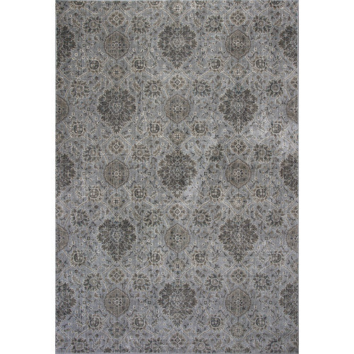 KAS Rugs Provence Silver Area Rug