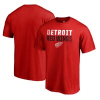 Detroit Red Wings Fanatics Branded Iconic Collection Fade Out T-Shirt - Red