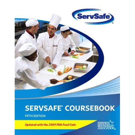 ServSafe CourseBook with Paper/Pencil Answer Sheet Update with 2009 FDA Food Code (5th Edition) by National Restaurant