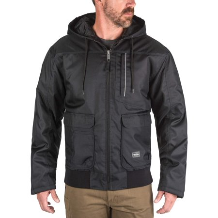 Moda Insulated Coat - Men's Enduro Zone Poly Duck Insulated Hooded Jacket