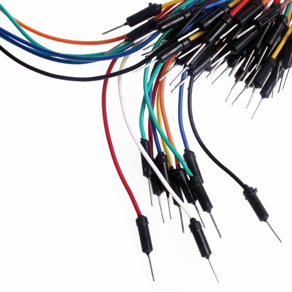 Breadboard Jumper Wire M/M - Pack of 75