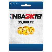 NBA 2K19: 35,000 VC, 2K Games, Playstation, [Digital Download]