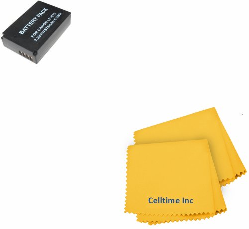 Replacement LP-E12 Ultra High Capacity Li-ion Battery for CANON REBEL SL1, EOS