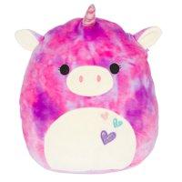 "Squishmallow 12"" Pink/Purple Tie Dye Unicorn Super Soft Plush"