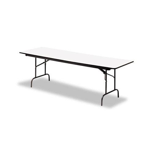 Iceberg Enterprises Iceberg Premium Wood Laminate 60'' Rectangular Folding Table