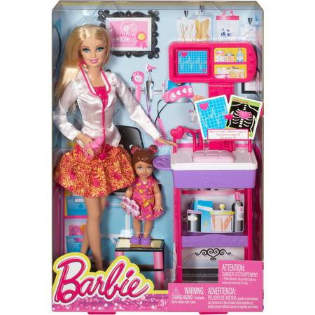 Barbie Careers Complete Play Doctor Set Walmart Com