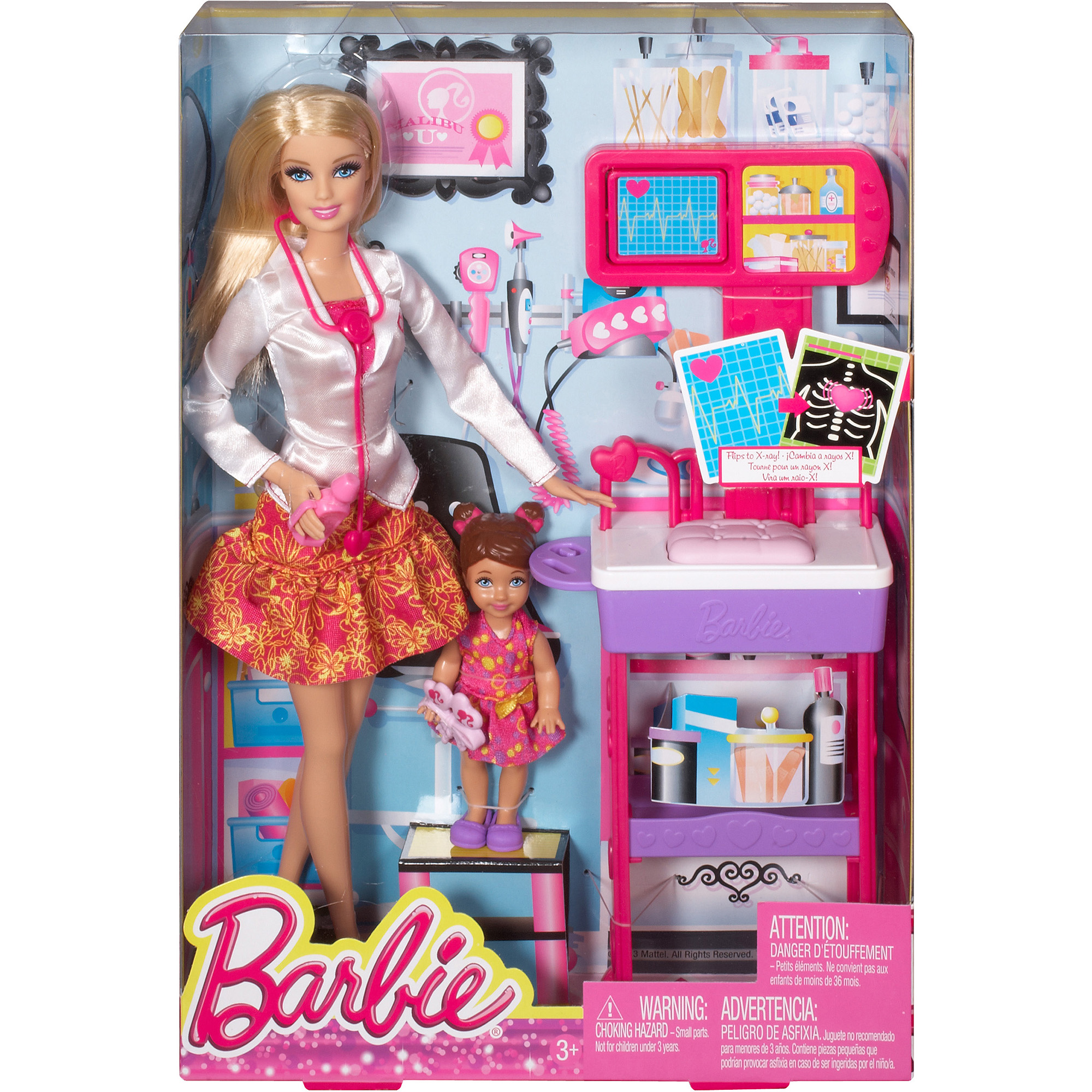 Barbie Careers Complete Play Doctor Set