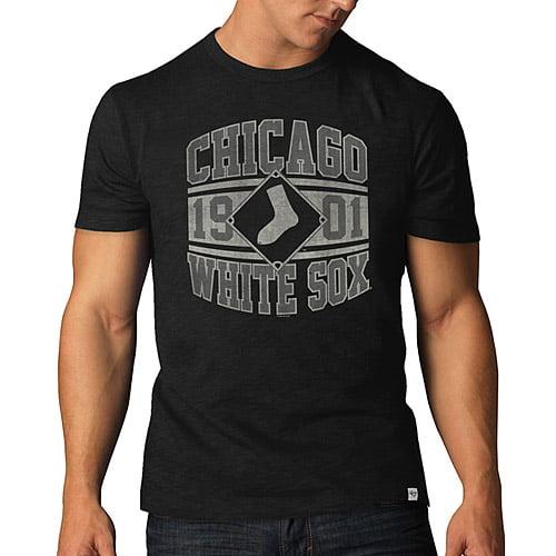 Chicago White Sox '47 Basic Scrum T-Shirt - Black