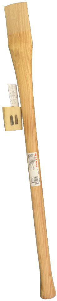 36-in L Wood Hickory Handle Replaces Double-Bit Axe Handles Fits 3-lbs To 5-lbs