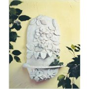 Craft-Tex 88026DV Clematis Wall Fountain - Dover White