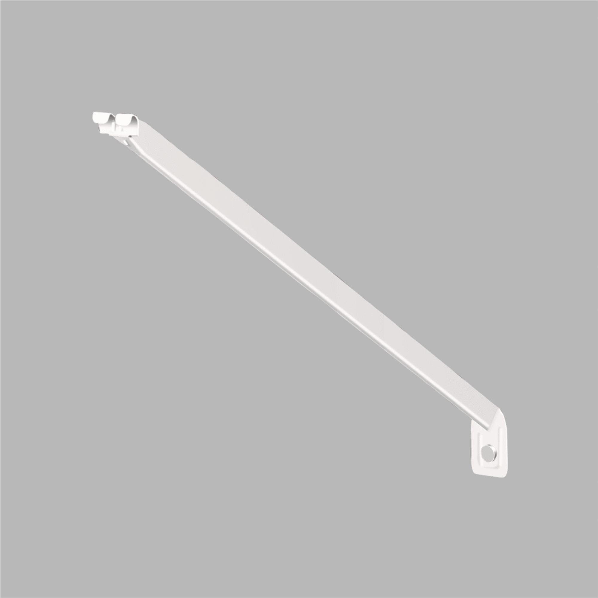 closetmaid 20 in white wire shelving support bracket