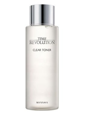 MISSHA Time Revolution Clear Toner, 8.45 Oz