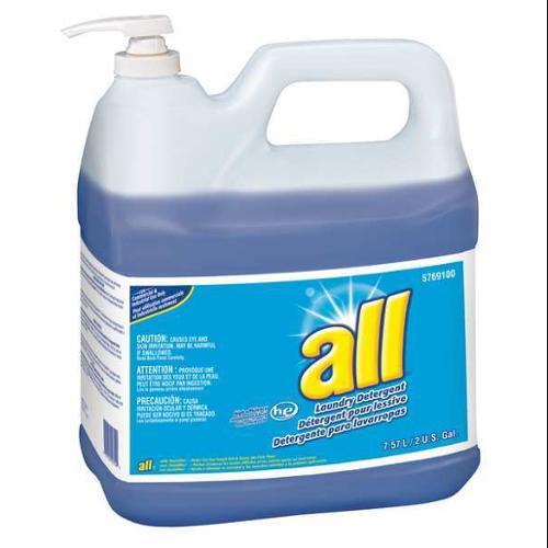 High Efficiency Liquid Laundry Detergent, Blue ,All, 95769100