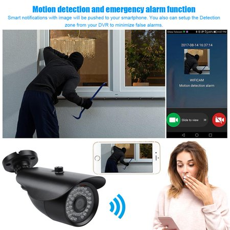surveillance cameras ymiko 1080p wireless security camera. Black Bedroom Furniture Sets. Home Design Ideas