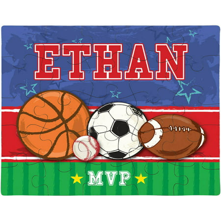 Personalized Sports MVP Puzzle (Personalized Photo Puzzle)