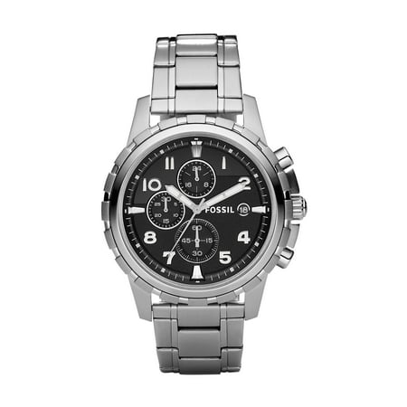 Fossil Mens Dean Stainless Steel Chronograph Watch (Style: FS4542)