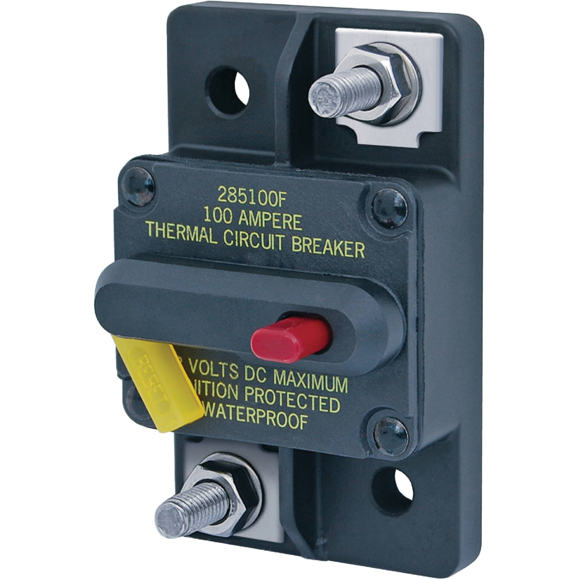 Blue Sea Systems 285 Series DC Cirucit Breaker, Surface Mount