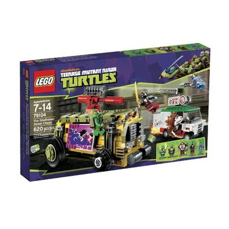 LEGO® Teenage Mutant Ninja Turtles® Shellraiser Street Chase w Minifigures (Lego Teenage Mutant Ninja Turtles Karai Bike Escape)