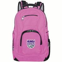 NBA Sacramento Kings Pink Premium Laptop Backpack