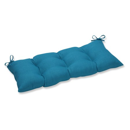 Pillow Perfect Rave Solid 44 X 18 5 In Button Tufted Outdoor Indoor Swing Bench Cushion