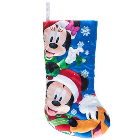 Mickey Mouse and Friends Stocking Christmas Mantel Decoration Gift - Stocking Decorations