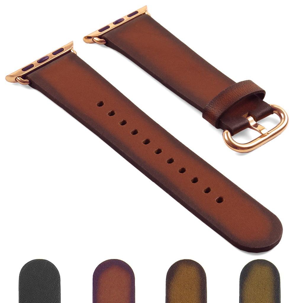 cc6d30f002e DASSARI Genuine Italian Vintage Leather iWatch Band Strap for ...