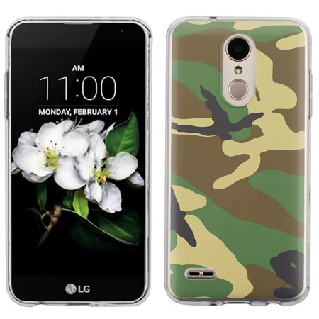 Slim Case for LG Aristo 2 / Tribute Dynasty, OneToughShield ® Scratch-Resistant TPU Protective Phone Case - Camouflage Green