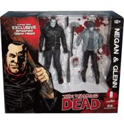 The Walking Dead Negan and Glenn Black and White Ver. Action Figure Set