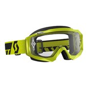 Scott Hustle Solid 2016 MX/Offroad Goggle w/Clear Works Lens Green