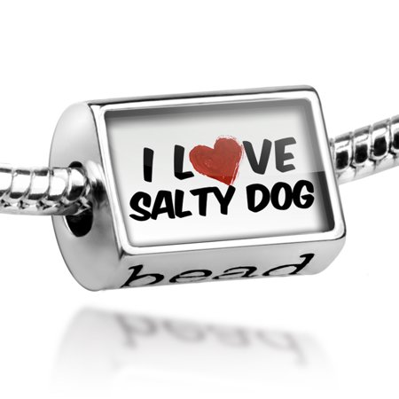 Bead I Love Salty Dog Cocktail Charm Fits All European Bracelets](Salty Dog Cocktail)