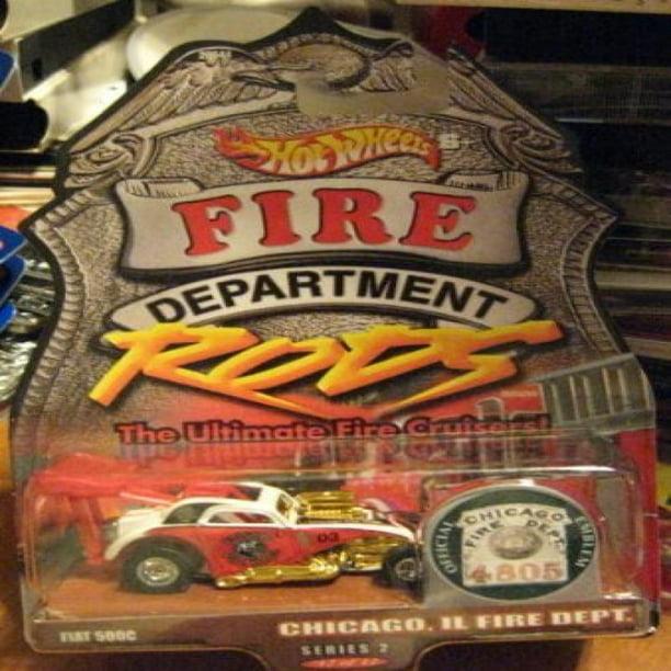Hot Wheels Fire Department Rods Purple Passion