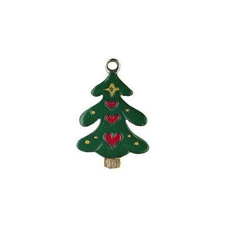 Christmas Tree Mini German Pewter Christmas Ornament ...