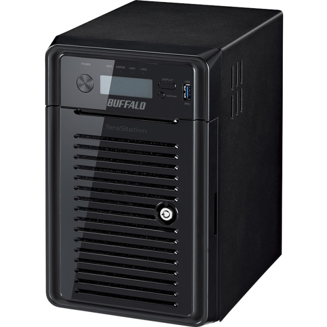 BUFFALO TeraStation 5600 Windows Storage Server 6-Drive 12 TB Desktop NAS for Small/Medium Business SMB (WS5600DN1206S2)