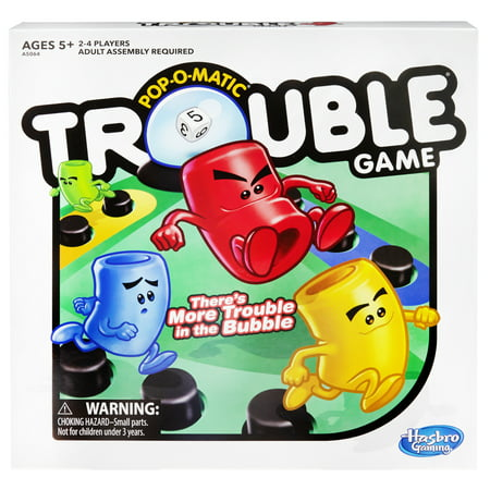 Trouble Board Game for Kids Ages 5 and Up 2-4 Players (Games For Family Night)