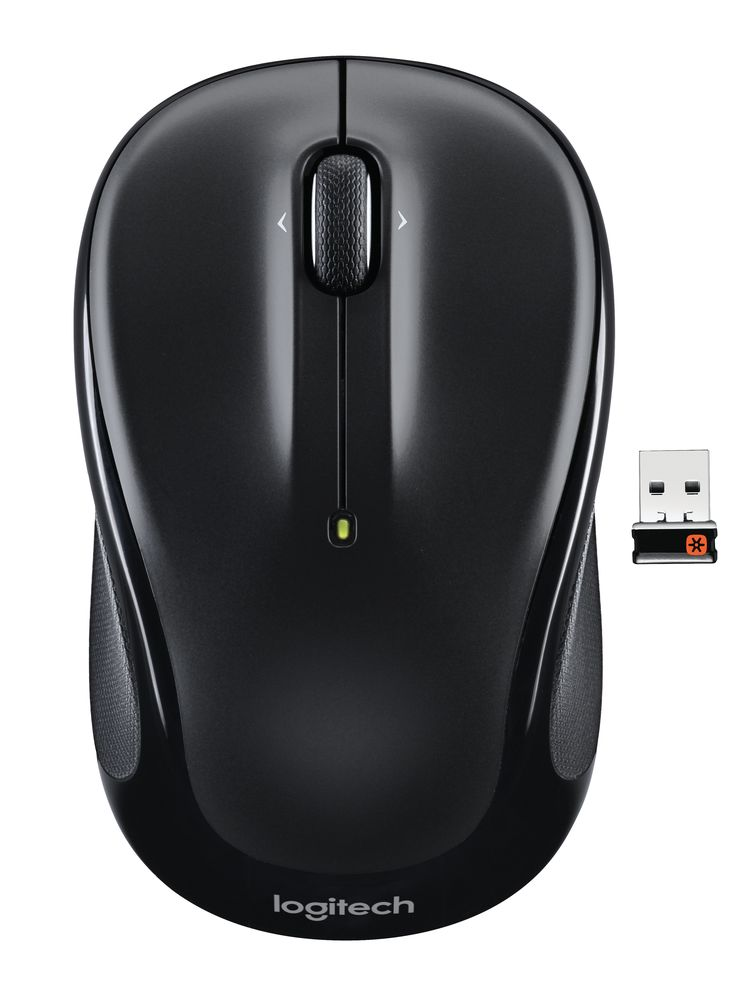 RONSHIN Electronics Mini Car Shape 2.4G Wireless Mouse Receiver with USB Interface for Notebooks Desktop Computers Green