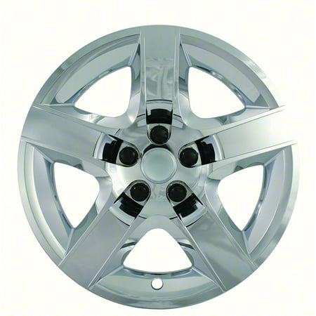 (SET OF 4)08-13 MALIBU 17IN CHROME WHEEL COVER