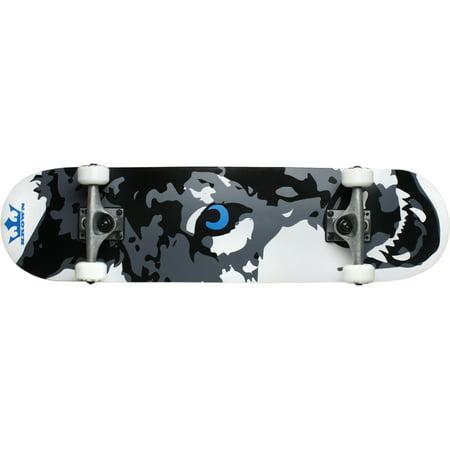 Krown Skateboard Rookie Wolf - Back To The Future Skateboard