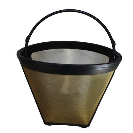 Crucial 4 Cup Gold Tone Coffee Filter
