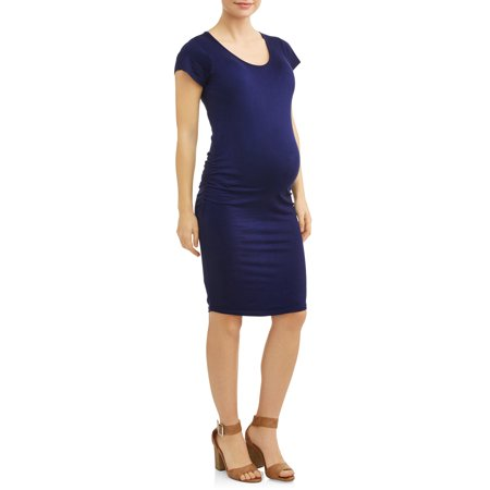Sleeve Knitted Dress - Maternity Cap Sleeve Knit Dress - Available in Plus Sizes