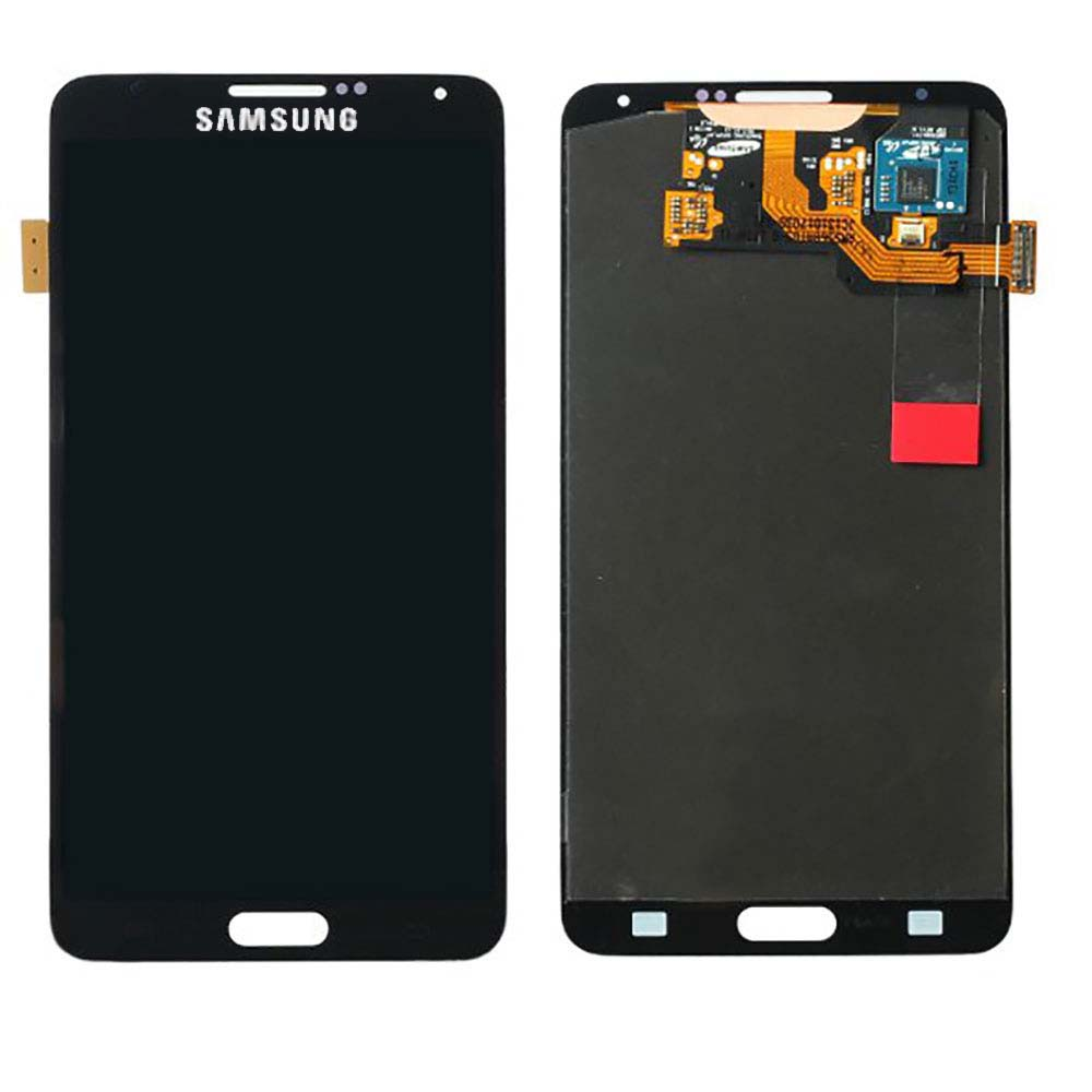 Black Touch Screen Digitizer + LCD Assembly for Samsung N...