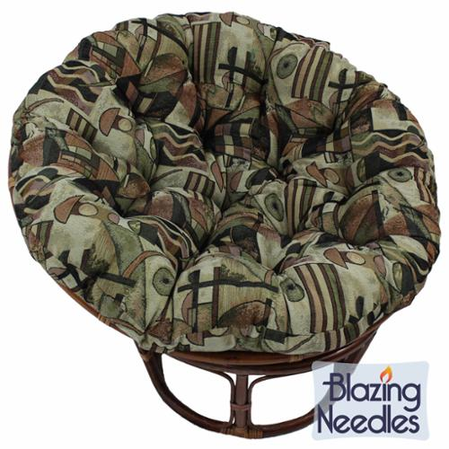 Blazing Needles Contemporary Collection 44-inch Tapestry Papasan Cushion Rothko