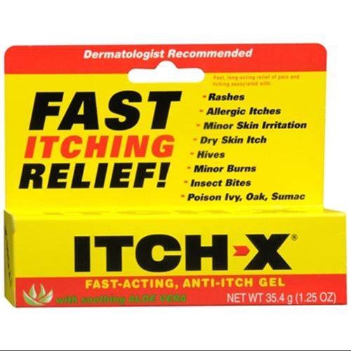 ITCH-X Anti-Itch Gel 1.25 oz (Pack of 6)