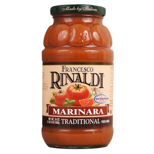 Francesco Rinaldi Traditional Marina Pasta Sauce, 24 oz