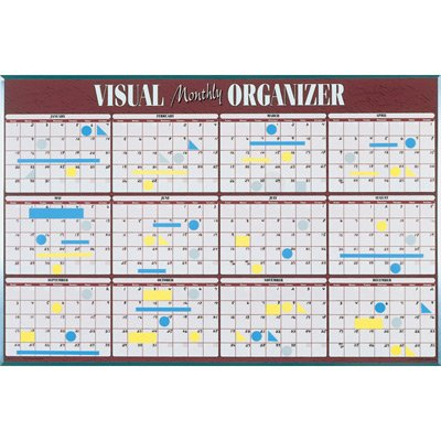 At-A-Glance Visual Organizer Monthly VISU-Board Planning System