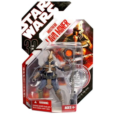 Star Wars 30Th Anniversary 2007 Wave 1 Mustafar Lava Miner Action Figure