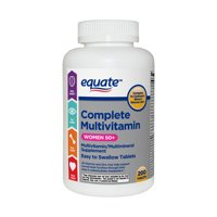 Equate Complete Multivitamin Tablets, Women 50+, 200 Count