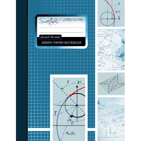 graph paper notebook squared graphing paper blank quad ruled large 85