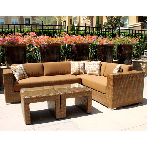 Art Frame Direct Mataro Deep Seating Group with Cushions