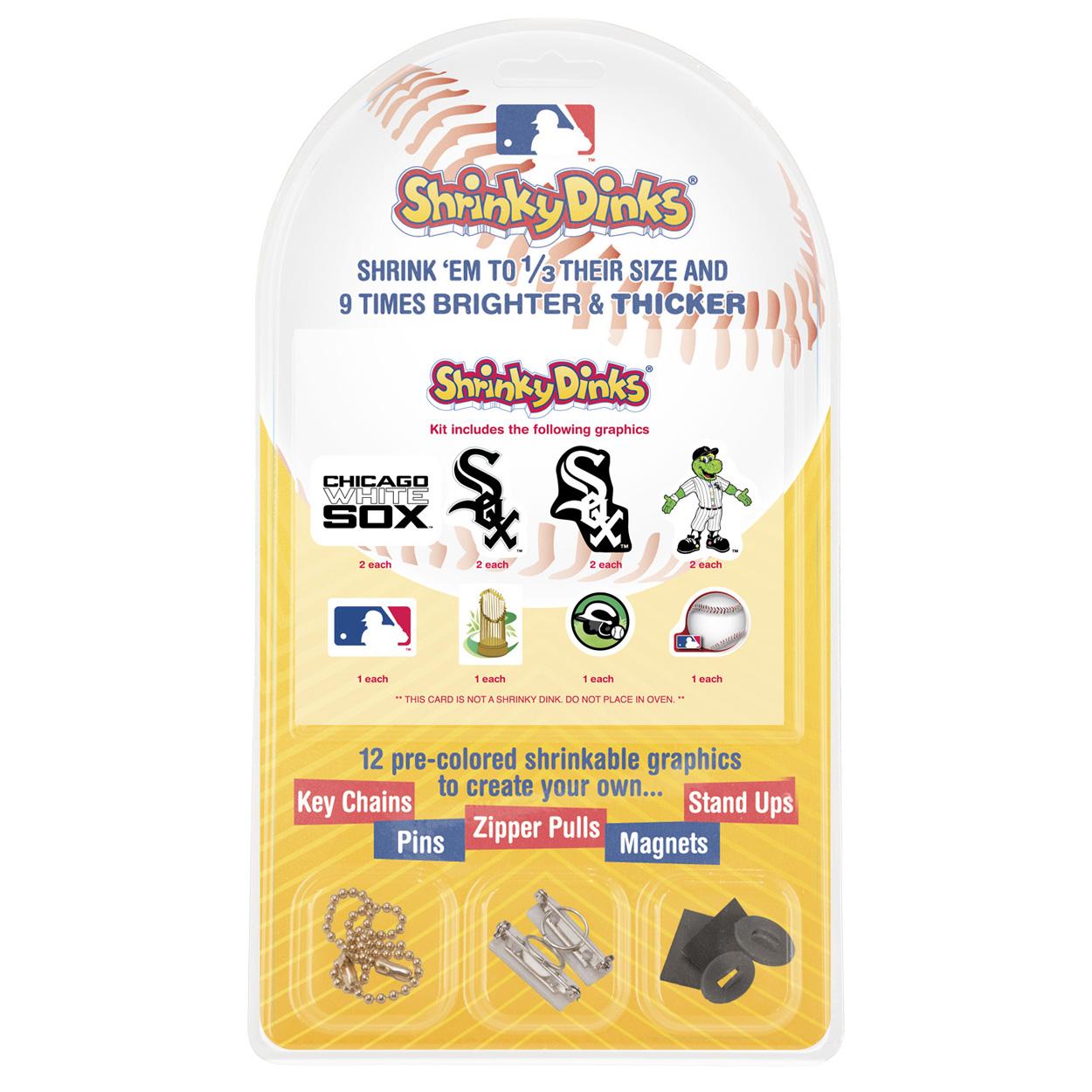 Chicago White Sox Shrinky Dinks