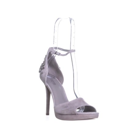 Womens MICHAEL Michael Kors Patti Platform Ankle Strap Sandals, Pearl